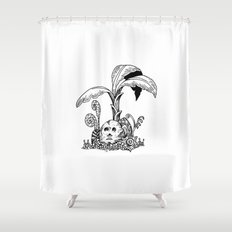 Forest Totem Shower Curtain