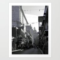 new orleans Art Prints featuring New Orleans  by DeniseValencia