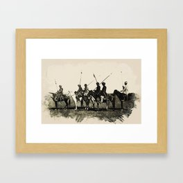 Kurdish Warriors 1870 Framed Art Print