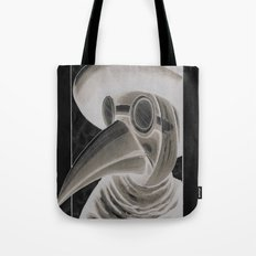 the doctor inverted Tote Bag
