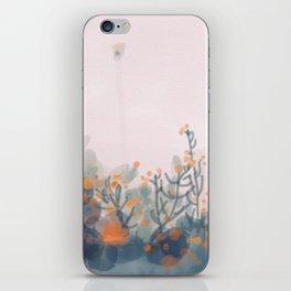 Orange Blooms iPhone Skin