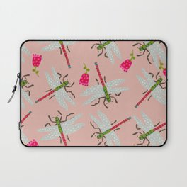 Dragonflies and Roses Laptop Sleeve