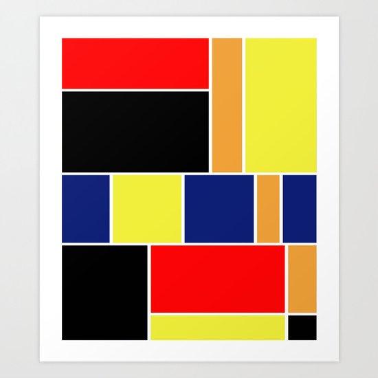Abstract #404 Art Print