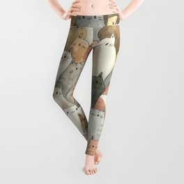 Sea of Cats Leggings