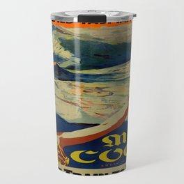Vintage poster - Mt. Cook Travel Mug