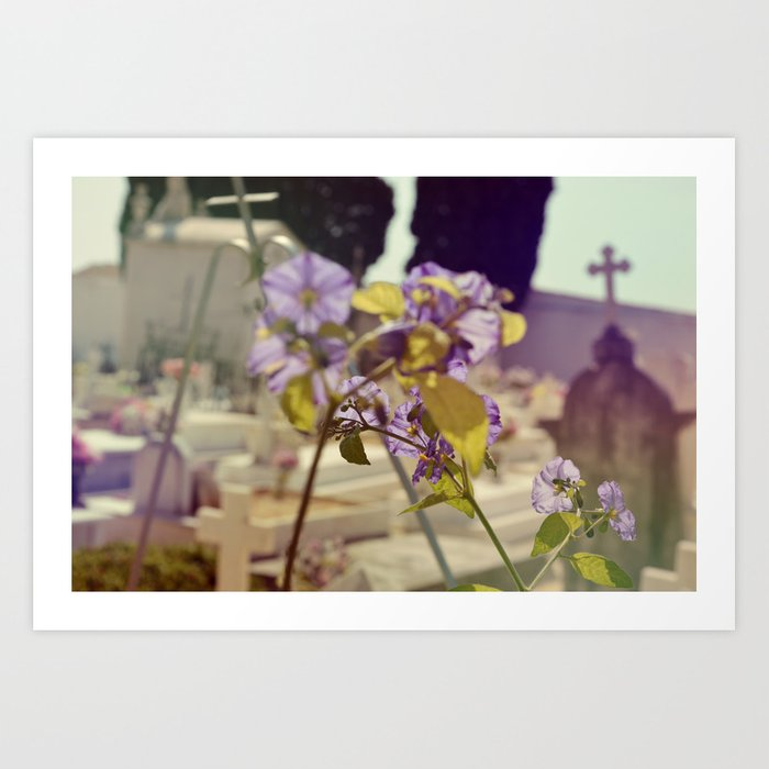 Amongst the Dead Art Print