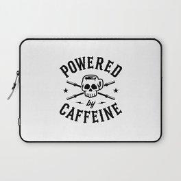 Powered By Caffeine Laptop Sleeve