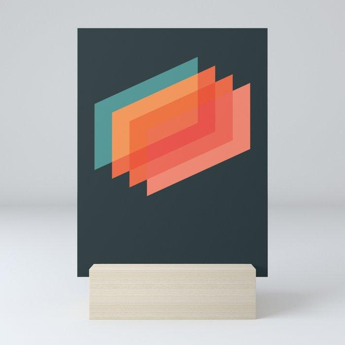 Horizons 01 Mini Art Print