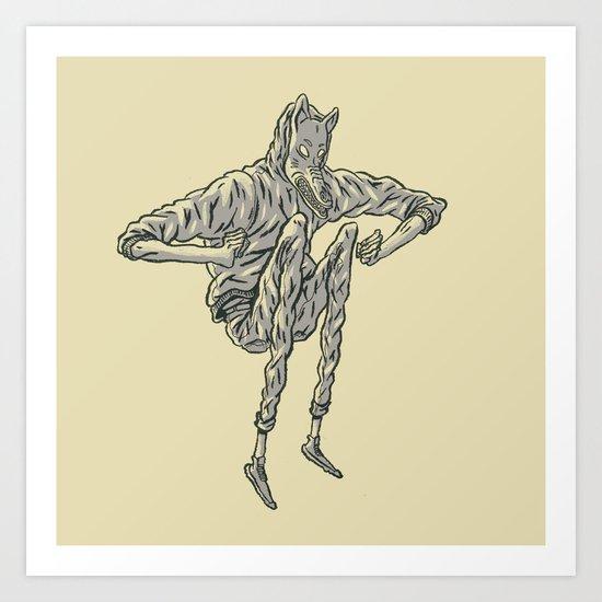 Wolf Tribe Art Print