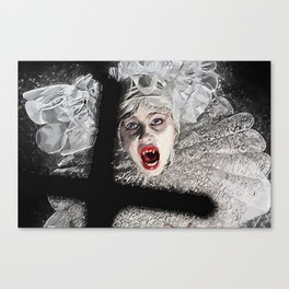 Lucy Westenra Canvas Print