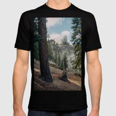 Half Dome Mens Fitted Tee X-LARGE Black
