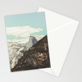 Half Dome Peek Stationery Cards