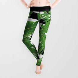 tropical geometric Leggings