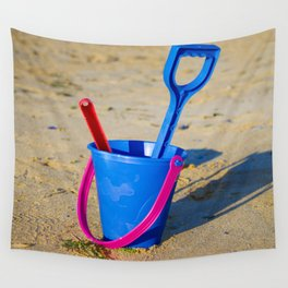 Beach play time Wall Tapestry