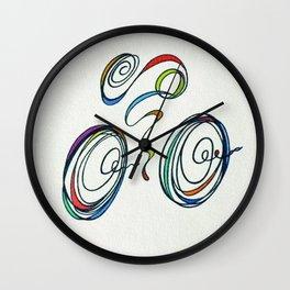 Bicycle - Zoomin' Through Wall Clock
