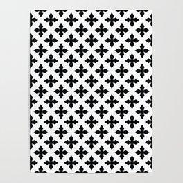 Decorative stars,simple design Poster
