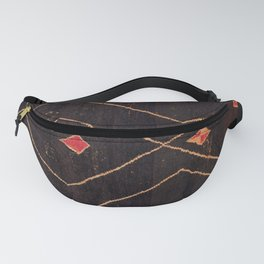 Feiija  Antique South Morocco North African Pile Rug Print Fanny Pack