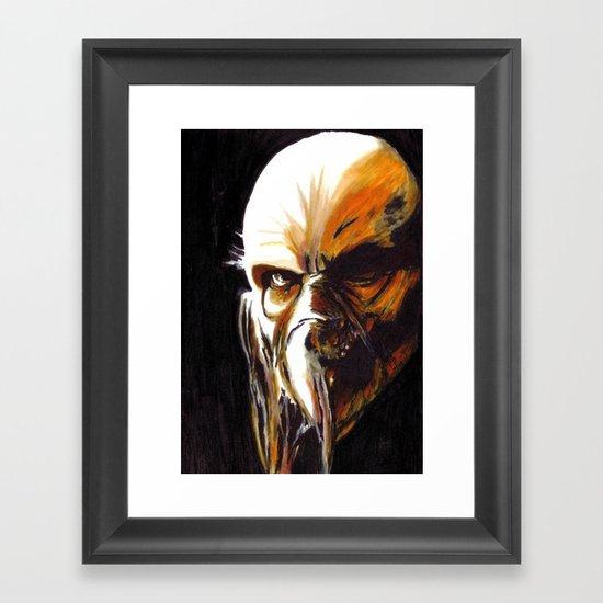 Dr. Satan Framed Art Print