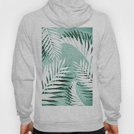 Tropical bliss - jungle green Hoody