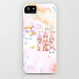 Unicorn Avalon Island iPhone Case