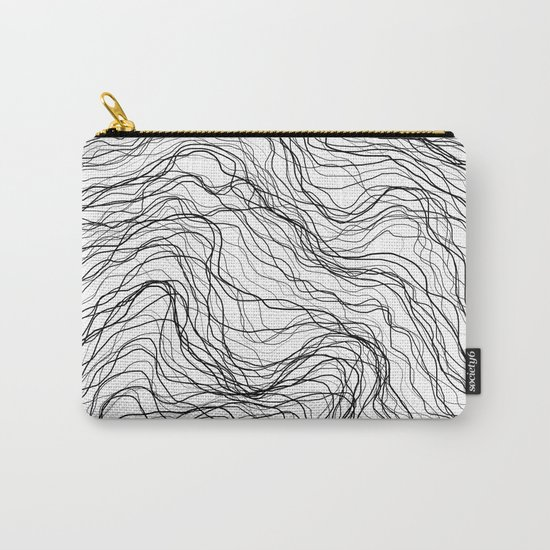 Black veins Carry-All Pouch
