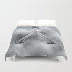 Stargate and smoke Duvet Cover