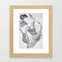 Dancer Series - Gable Framed Art Print
