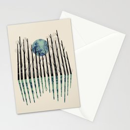 Little black forest Stationery Cards