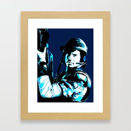 Bug hunt (alternative version) Framed Art Print