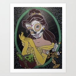 """Belle """"A Death as Old as Time"""" Art Print"""