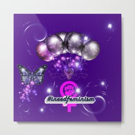 #IneedFeminism - The Hashtag That Started the 4th Wave of Feminism Metal Print