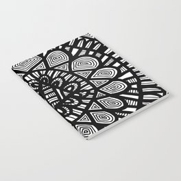 Black and White Doodle 7 Notebook