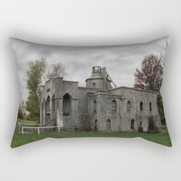Miller Mausoleum in Holden, Missouri Rectangular Pillow