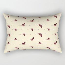 Flying Flamingos 7 Rectangular Pillow