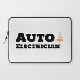 Auto Electrician & Caffeine Laptop Sleeve