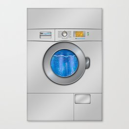 Washing Machine Canvas Print