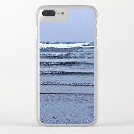 Stairway to the Sea Clear iPhone Case