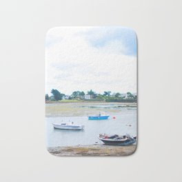 218. Some Boats, Britain, France Bath Mat