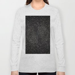 PLANET PIXEL BLACK ABYSS Long Sleeve T-shirt