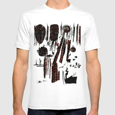 it`s business as usual Mens Fitted Tee White SMALL