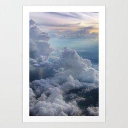 Clouds in the sky Kunstdrucke