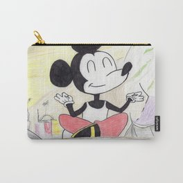 Meditating Mickey Carry-All Pouch