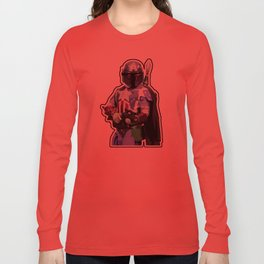 Captain Fett Long Sleeve T-shirt