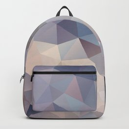 Polygon pattern 9 Backpack