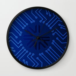 Pre-ICO Design of the week 5 Wall Clock
