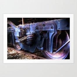 Grand Trunk Wheels Art Print