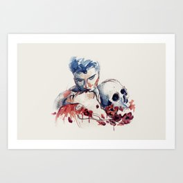 The Abduction of Persephone Art Print