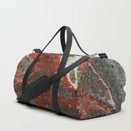 Red Streak Duffle Bag