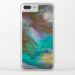 Northern Lad Clear iPhone Case