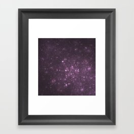 Purple Galaxy of Sir Douglas Fresh Framed Art Print